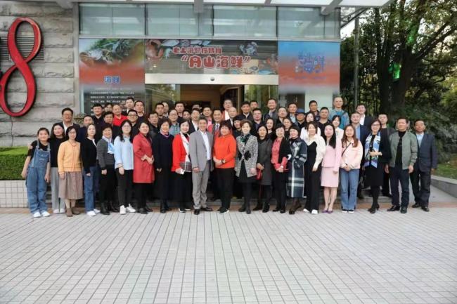 著名书法家杨五平举办经纪人团队签约仪式暨深