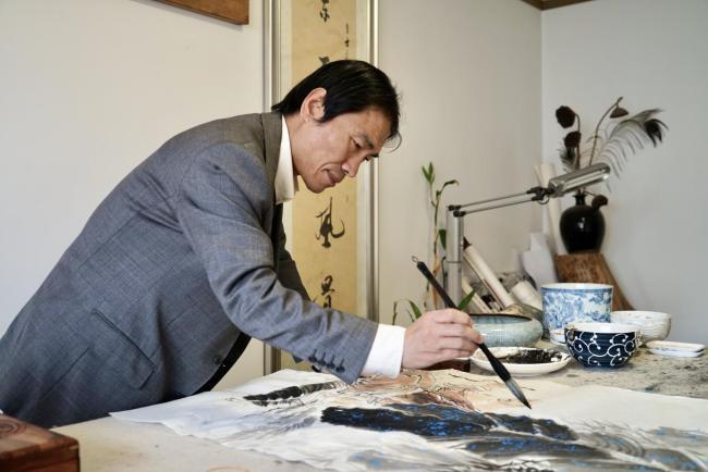 情系关帝 魅力五洲——著名艺术家李士良