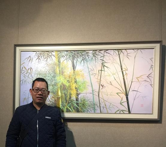情系关帝 魅力五洲——著名艺术家林得芳