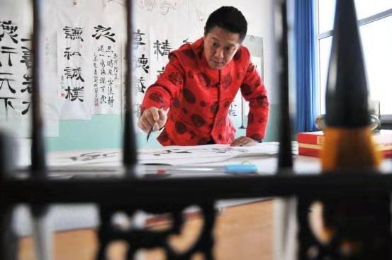 情系关帝 魅力五洲——著名艺术家李森山