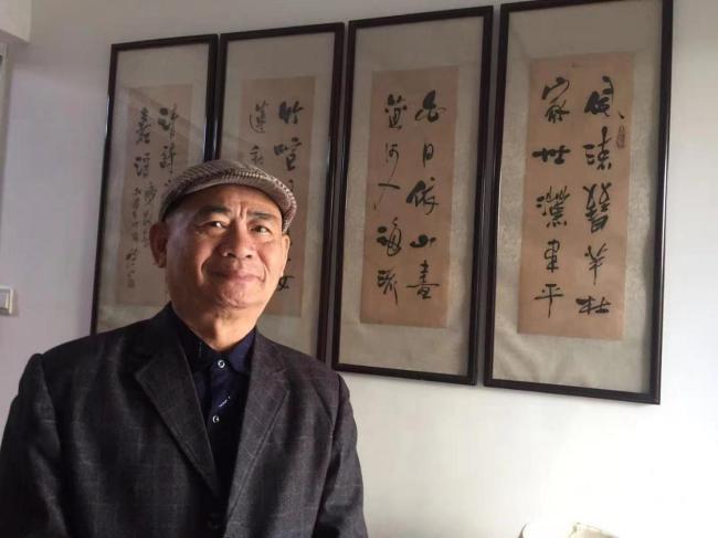 情系关帝 魅力五洲——著名艺术家吕加胜