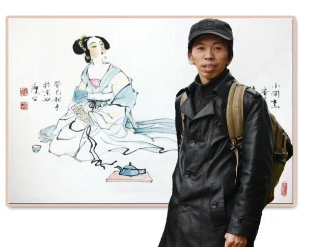 情系关帝 魅力五洲——著名艺术家胡文生