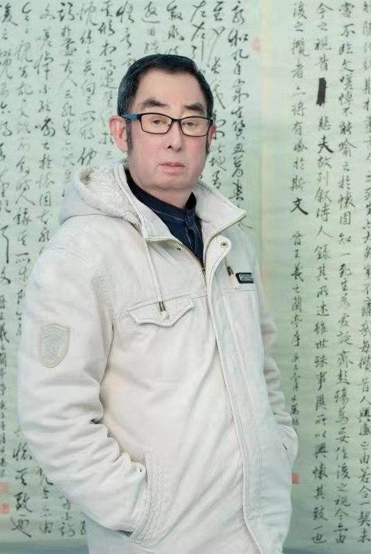 情系关帝 魅力五洲——著名艺术家滕步华
