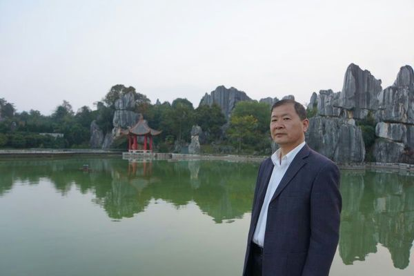 情系关帝 魅力五洲——著名艺术家王建坤
