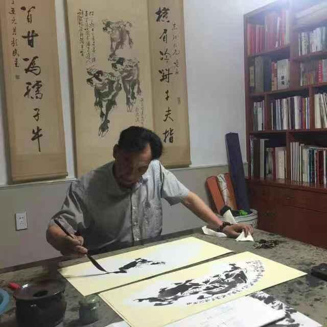 情系关帝 魅力五洲——著名艺术家杜志江