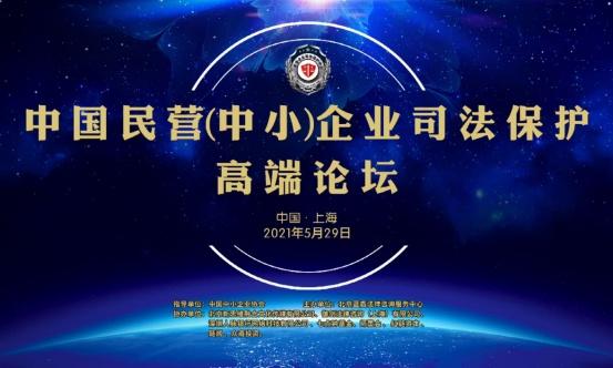 热烈祝贺中国民营(中小)企业司法保护高端论坛在沪成功举办