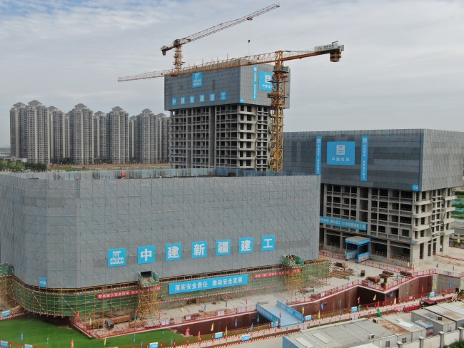 绿地高新全球贸易港项目开展云开放活动